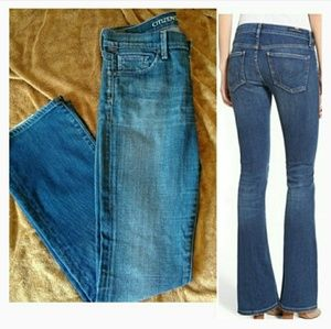 CITIZENS of HUMANITY bootcut jeans 25x30
